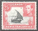 Kenya, Uganda and Tanganyika Scott 75 Used